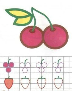 cherry tracing line