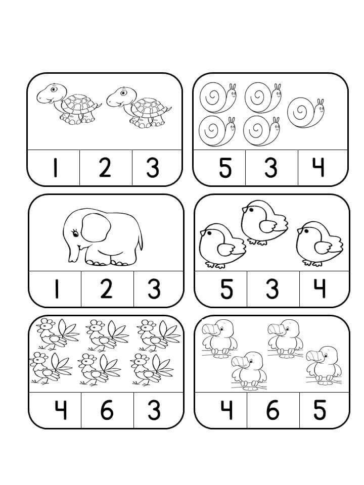 counting activities for preschoolers 1 preschool and homeschool. Black Bedroom Furniture Sets. Home Design Ideas