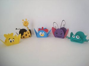 cute paper animals to dıy