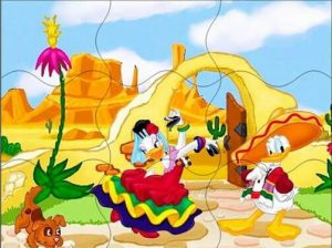 daffy duck puzzle for kids