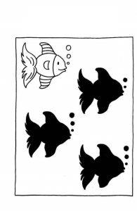 fish shadow match