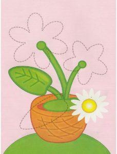 flower free printable kids worksheets (2)