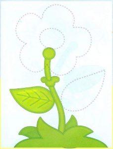flowers free printable kids worksheets (1)