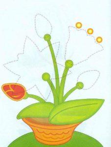 flowers free printable kids worksheets (2)