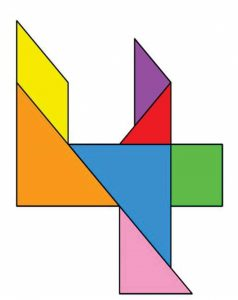 four is for tangram