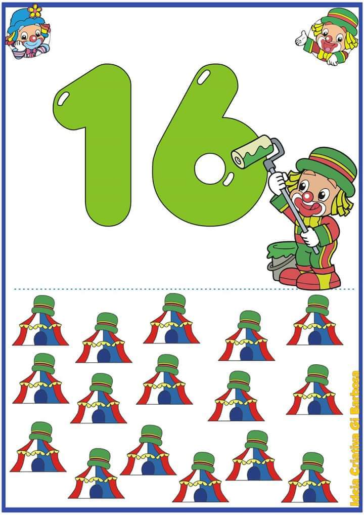 free flashcards for the numbers 1 through 20  2   u00ab preschool and homeschool