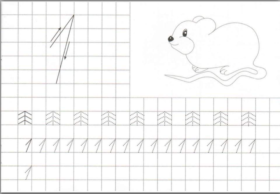 free handwriting number worksheets for preschool and kindergarten