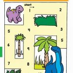 Practice Number Sequence With Number Maze 1-10