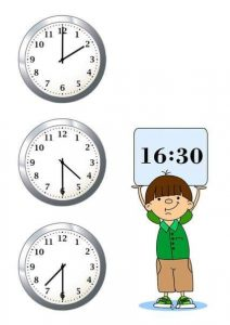 free telling time worksheets (2)