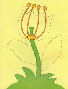 fun flower free printable kids worksheets