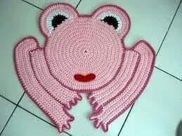 fun frog carpets for kids bedroom