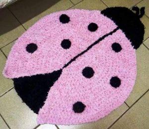 fun ladybug carpets for kids bedroom
