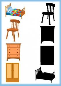 furniture shadow matching