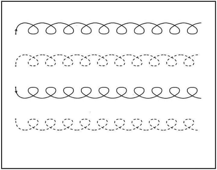 handwriting worksheets for preschool 2 funnycrafts – Pre K Handwriting Worksheets