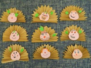 hedgehog craft for kids (1)