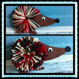 hedgehog crafts and ideas (1)
