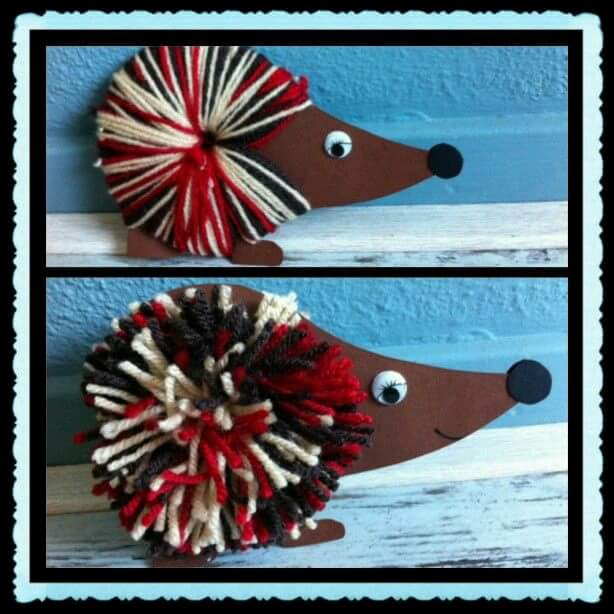 hedgehog crafts and ideas (1)