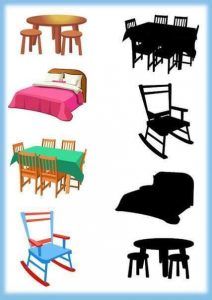 home furniture shadow matching
