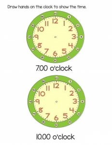 how to make a clock (2)