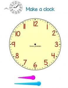how to make a clock for kids (2)