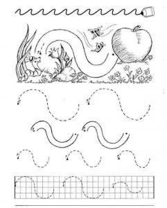 kindergarten alphabet handwriting practice printable, (3)