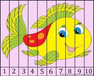 kindergarten number recognition ordering puzzle (2)