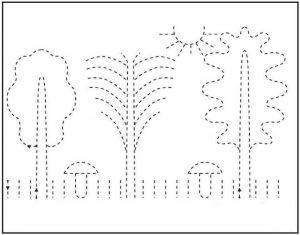 kindergarten printing practice (2)