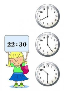 learning to tell time (2)