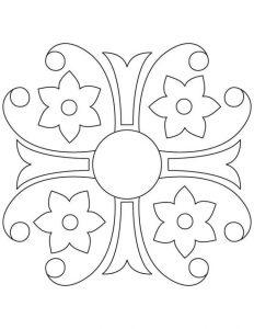 mandala coloring pages pdf 1 - Mandala Coloring Pages Pdf