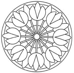 mandalas coloring pages & printables (1)