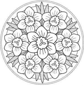 mandalas coloring pages & printables (3)