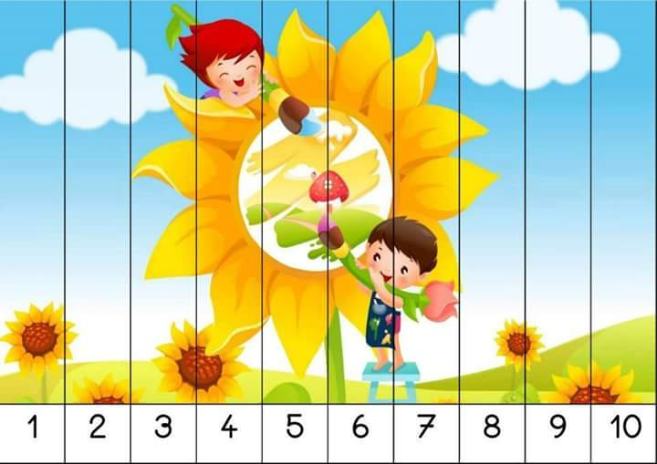 number puzzles for kindergarten