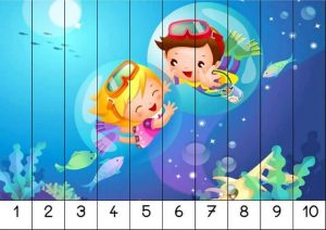 number recognition ordering puzzle preschool printables (1)