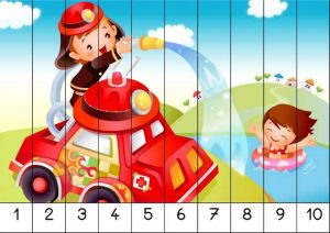 number recognition ordering puzzle preschool printables (3)