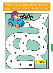 number sequence maze (2)