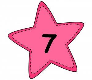 numbers 0-10 on stars (2)