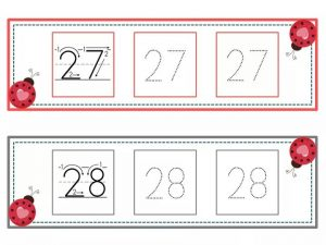 numbers tracing line (14)