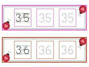 numbers tracing line (18)