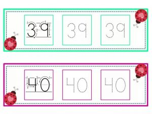 numbers tracing line (20)