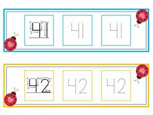 numbers tracing line (21)