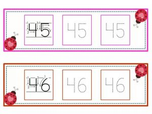 numbers tracing line (23)