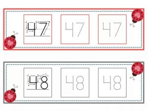 numbers tracing line (24)