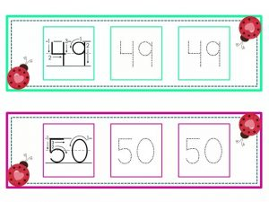 numbers tracing line (25)