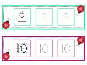 numbers tracing line (5)