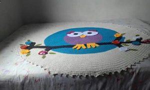 owl carpets for kids bedroom