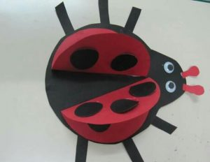 paper ladybug crafts for kids