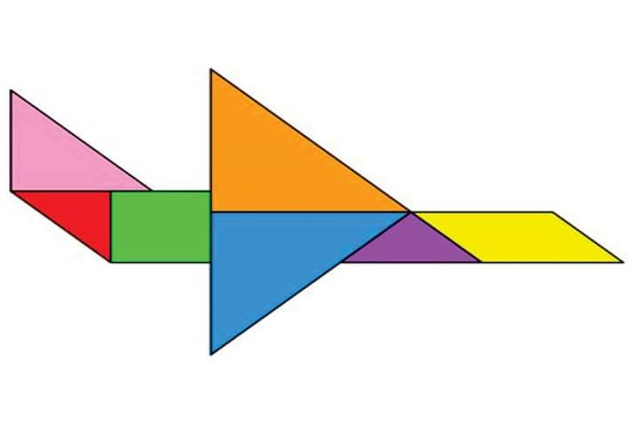 plane tangram « Preschool and Homeschool
