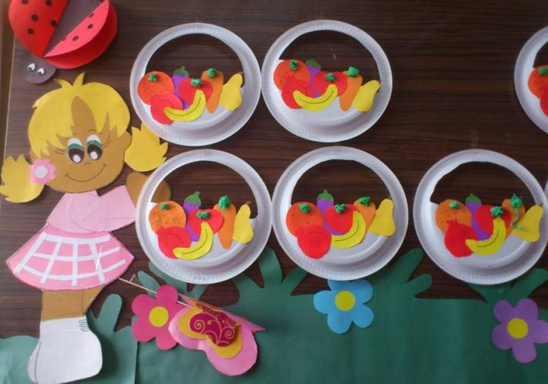 plate fruit craft ideas (1) u00ab funnycrafts