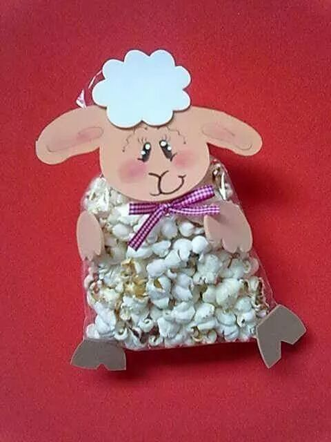 popcorn crafts for toddlers, (2)