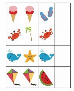 preschool pattern activities